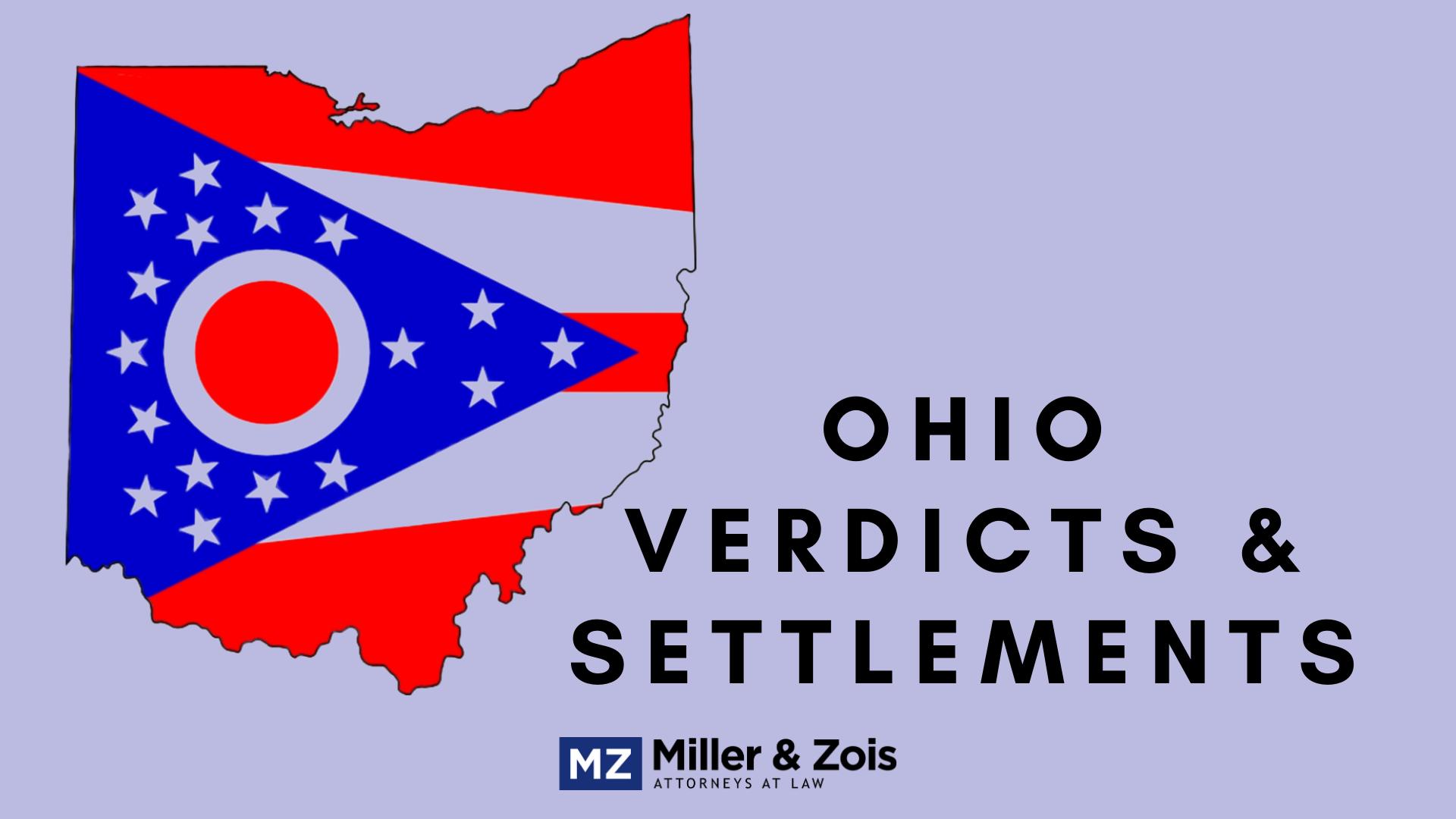 ohio verdicts settlements