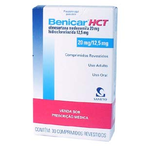 Benicar - FDA prescribing information, side effects and uses