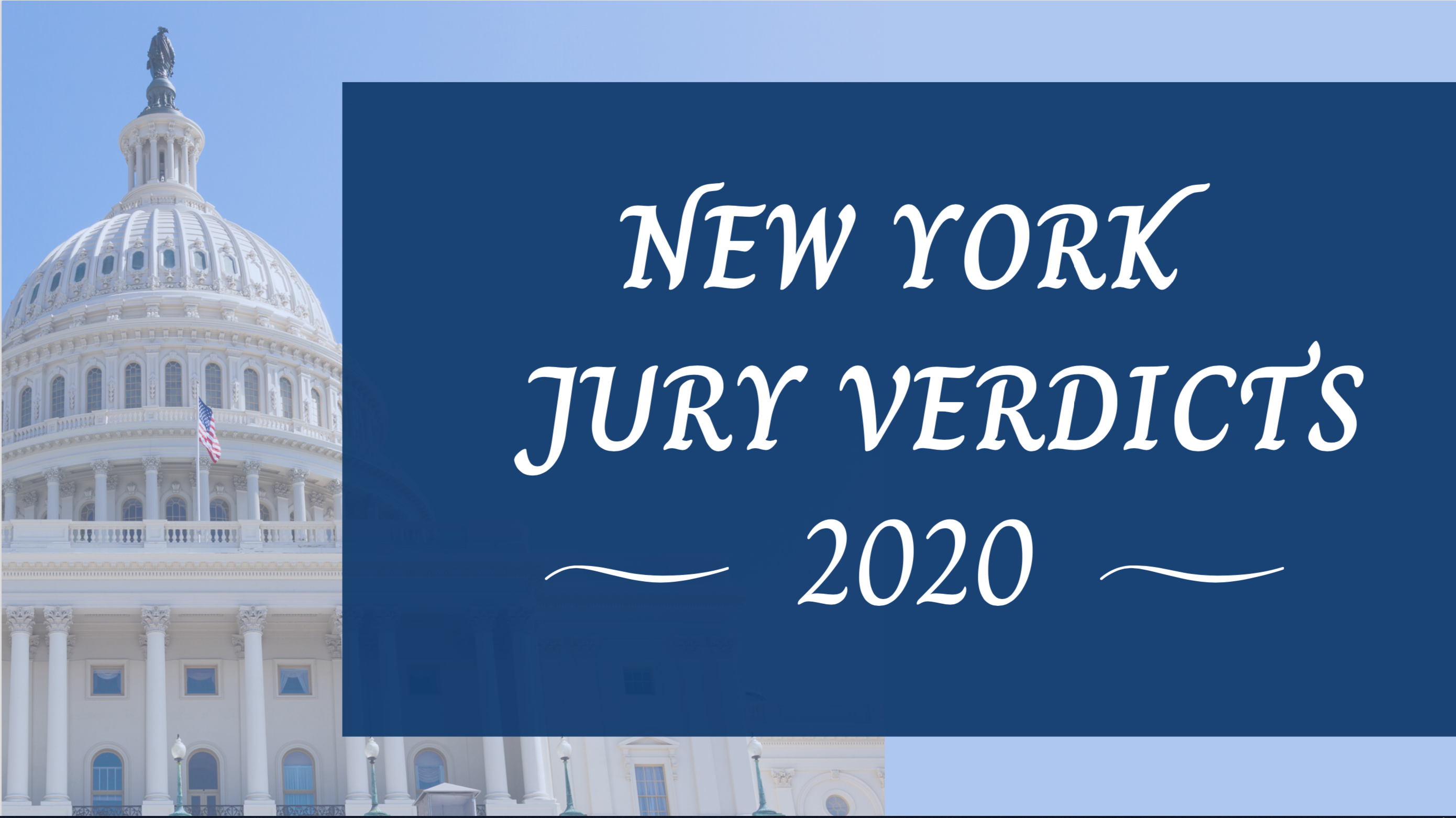 new york verdicts